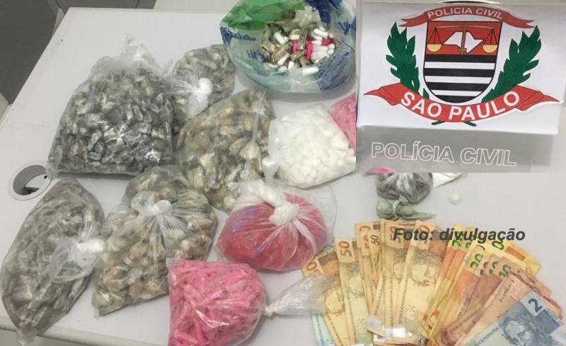 Acusado de homicídio em Marília é preso pela DIG com drogas