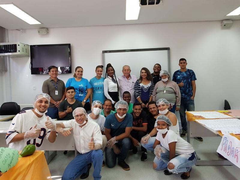 Sincomercio Marília e SENAC formam alunos do curso de Operador de Supermercados
