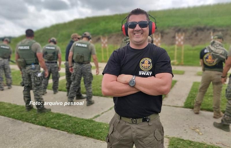 Cabo Taroco, herói mariliense, é destaque em treinamento na SWAT
