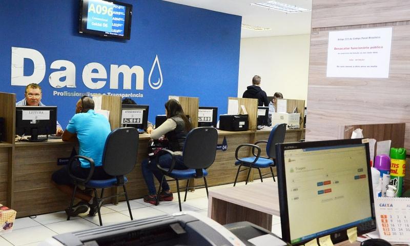 Daem: programa de anistia para débitos começa nesta terça