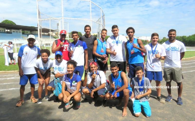 Festival de Atletismo reúne cerca de 250 pessoas no Poliesportivo Pedro Sola