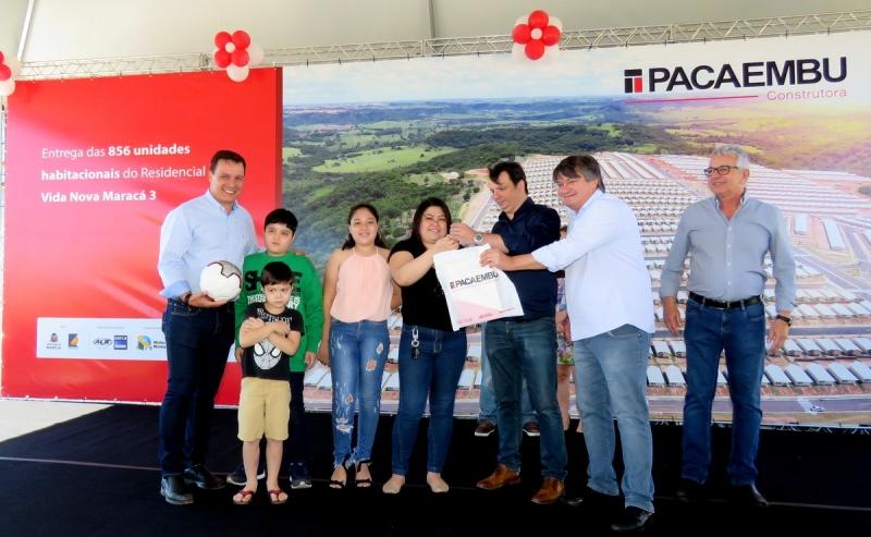 Construtora Pacaembu entrega o residencial Vida Maracá 3 e reafirma parceria com Marília
