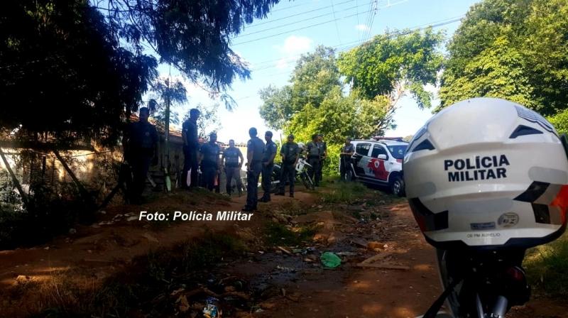 PM faz operação na zona Oeste de Marília e prende dois por tráfico