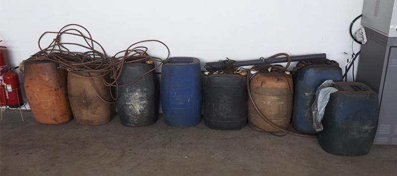 Polícia prende motorista que sabotava empresa e furtava combustível na região
