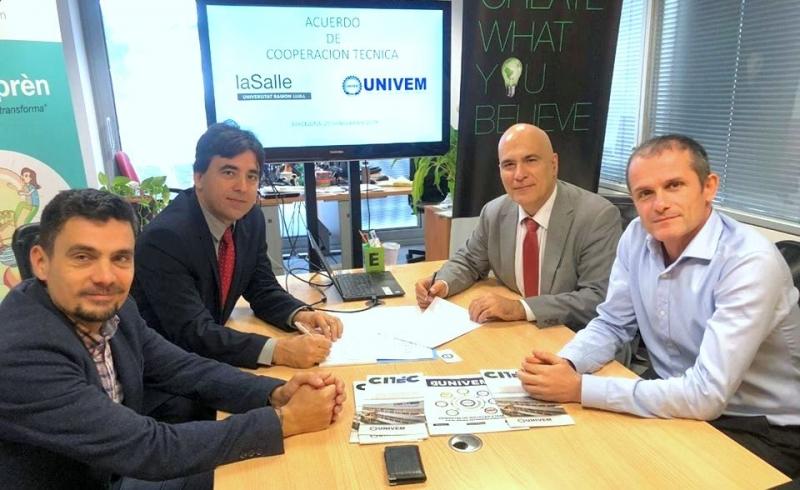 UNIVEM assina acordo de cooperação internacional com Universidade de Barcelona
