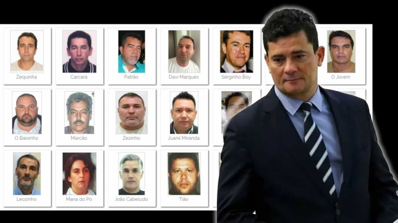 Moro divulga lista de criminosos mais procurados do Brasil