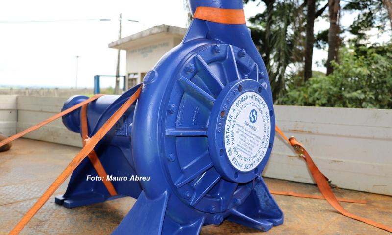 Quebra de equipamento pode prejudicar abastecimento de água em Marília