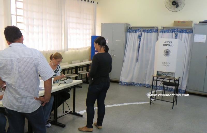 Votação no 2º turno começa tranquila em Marília, segundo a PM e PF