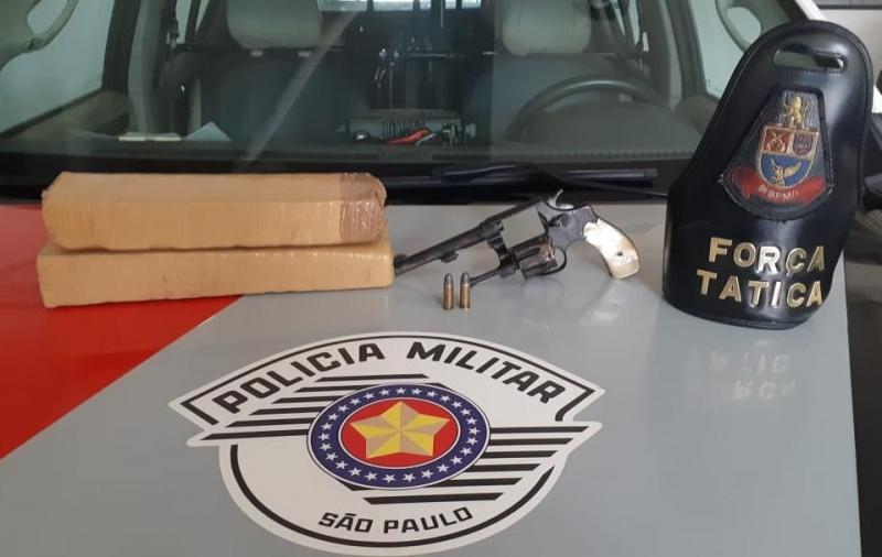 Polícia Militar prende três pessoas acusadas de tráfico em Marília