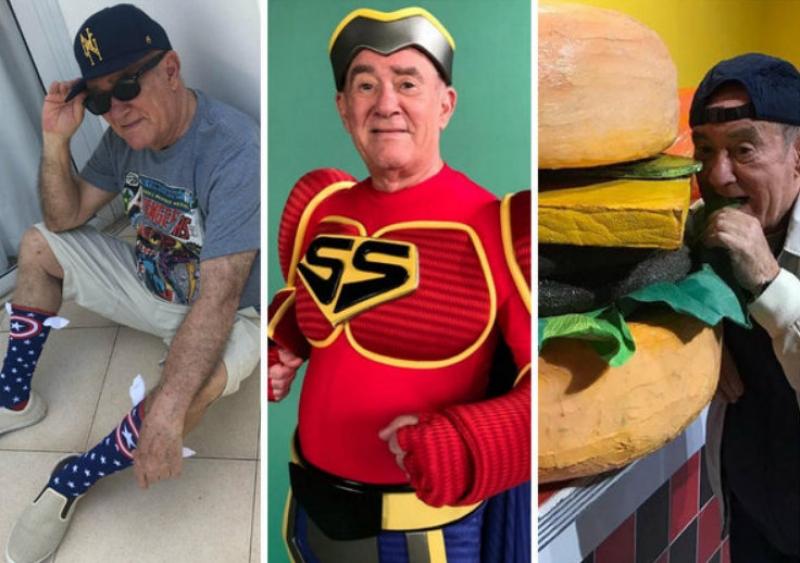 Renato Aragão, o eterno Didi, vira estrela do Instagram aos 84 anos