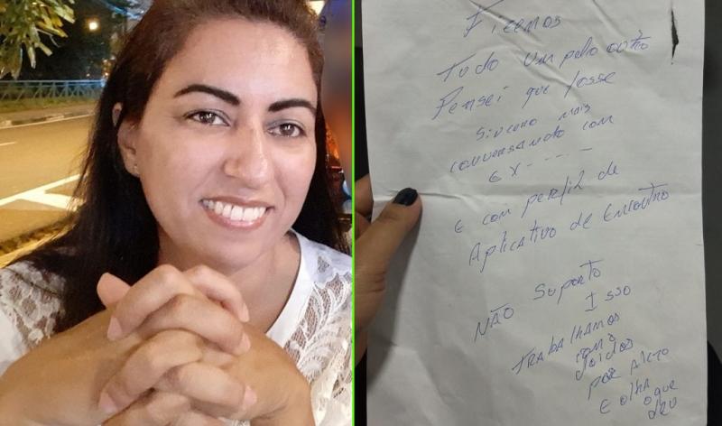 Polícia tenta desvendar homicídio de enfermeira a partir de carta