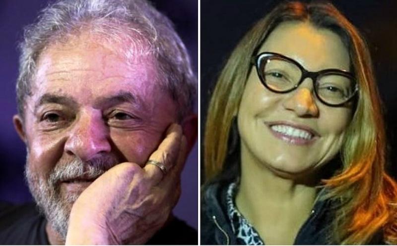Apaixonado, Lula já usa aliança de compromisso