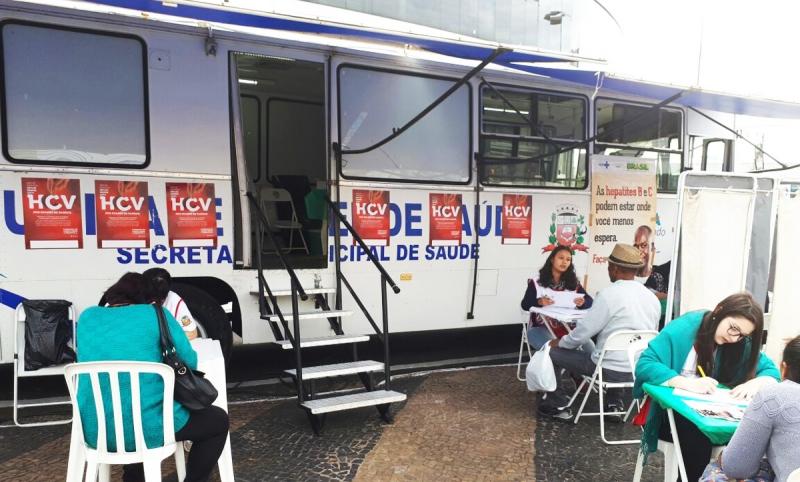 Saúde fará testes rápidos para hepatites no centro de Marília