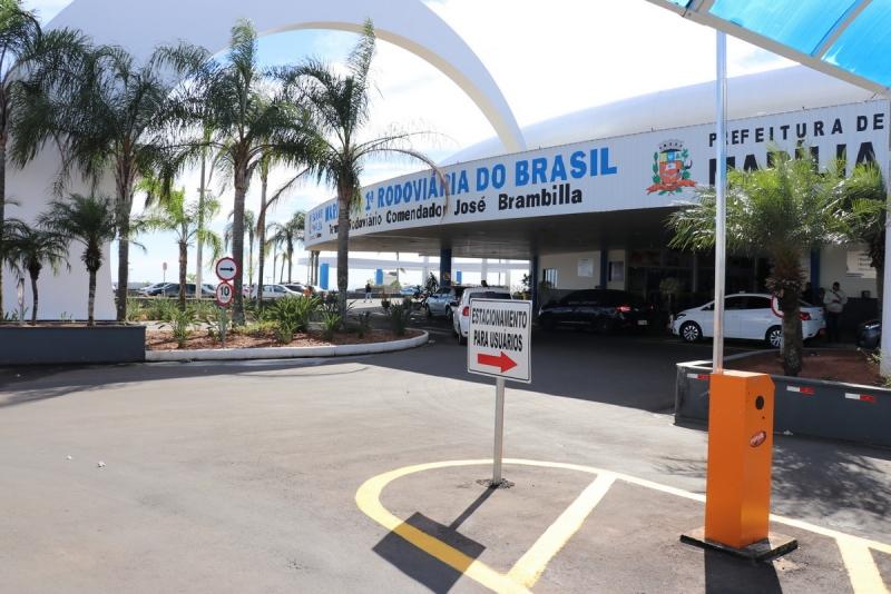 Prefeitura entrega reestruturação e revitalização do Terminal Rodoviário