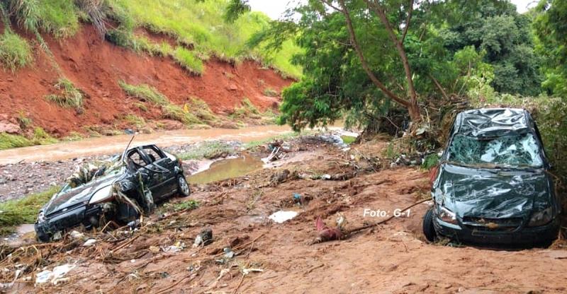 Mãe e filha morrem na região após córrego transbordar. Rodovias da região apresentam problemas