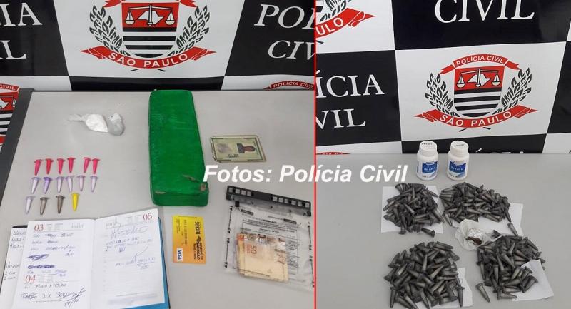 Operação das polícias Civil e Militar de Marília prende traficantes na região