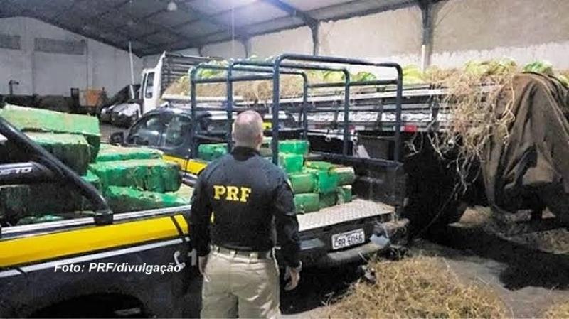 Caminhoneiro da região é preso com 1 tonelada de maconha no Rio de Janeiro