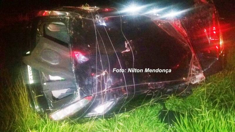 Mariliense fica gravemente ferido em acidente na SP-294
