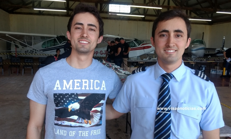 Irmãos e gêmeos, marilienses são destaque na aviação