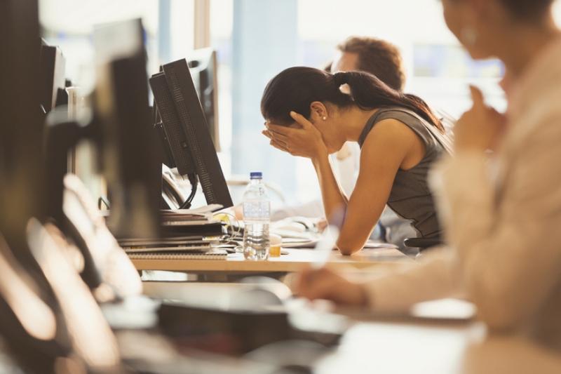 Excesso de trabalho está entre as principais causas de depressão