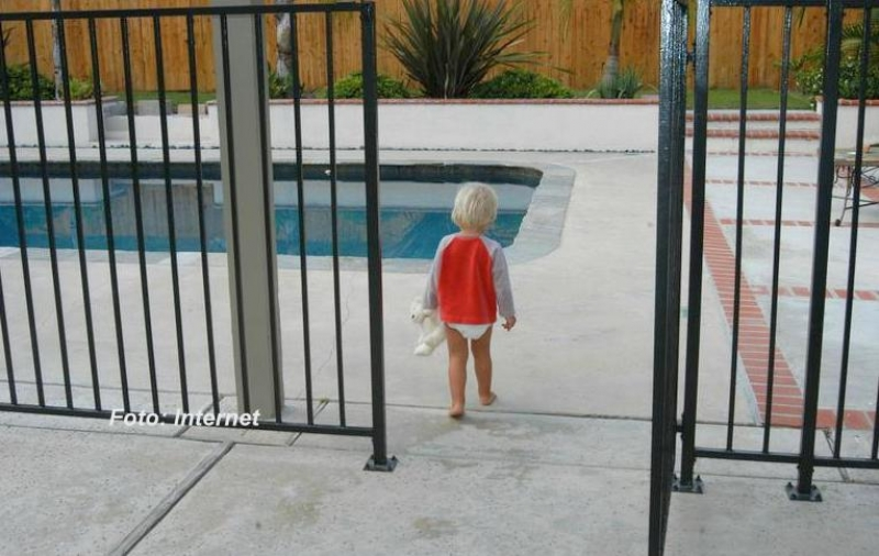 Perigo: bebê morre afogada em piscina, na região. Garotinho de Marília se recupera na UTI