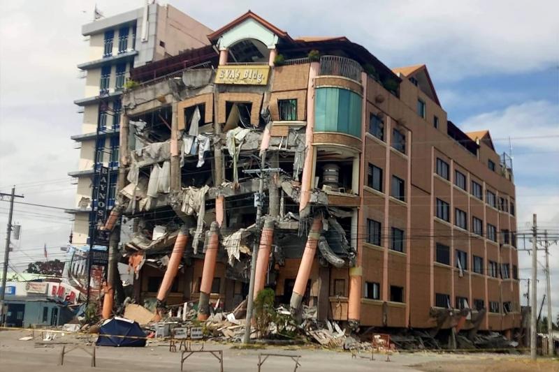 Novo terremoto no sul das Filipinas deixa mortos