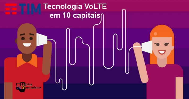 TIM libera VoLTe para clientes pré-pago e Controle em cidades da região de Marília