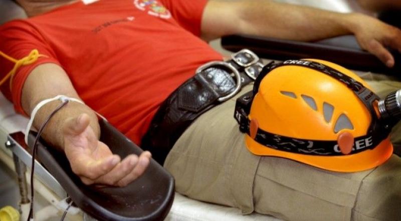 Corpo de Bombeiros de Garça faz campanha de doação de sangue