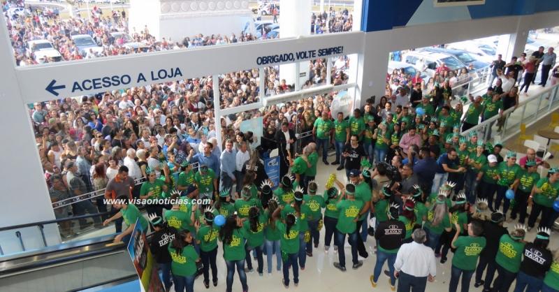 Luciano Hang: Havan de Marília será uma das melhores lojas do Brasil