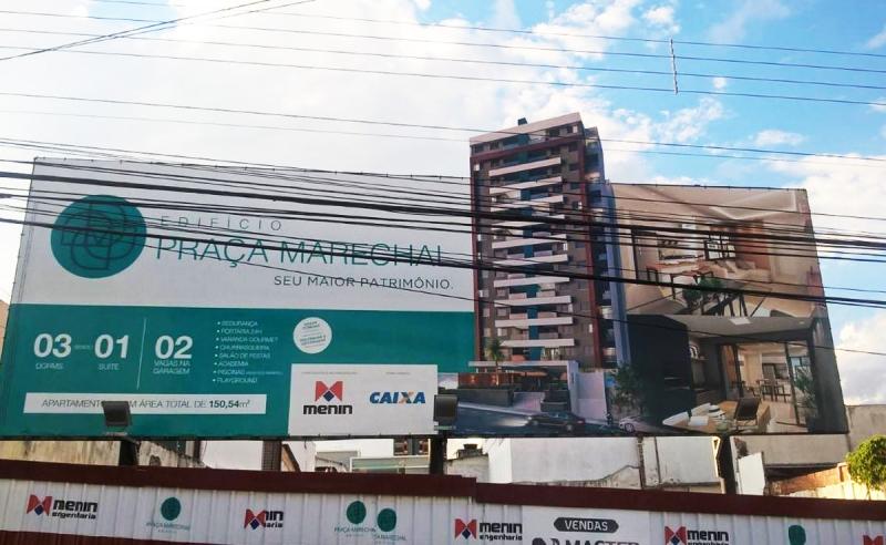 Menin Engenharia inicia obras do edifício Praça Marechal, em Marília