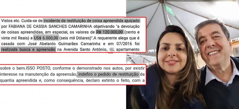Justiça nega liberação de dinheiro apreendido na casa do ex-deputado Camarinha