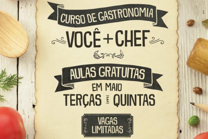 Low Carb e Paella são destaques do curso de gastronomia 'Você + Chef' do Marília Shopping