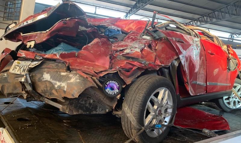 Passageiras morrem em grave acidente na região