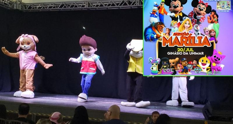 Festival Kids será neste domingo em Marília, com várias atrações