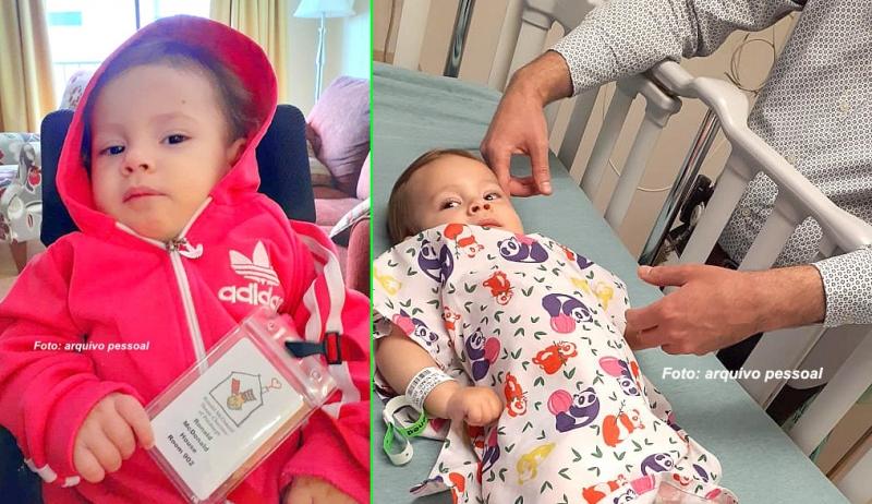 """""""Valentina está nas mãos de Deus"""", afirma mãe após resultado dos exames nos EUA"""