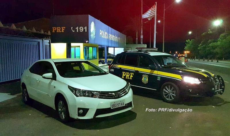 PRF recupera na região veículo roubado há quase dois anos em Brasília