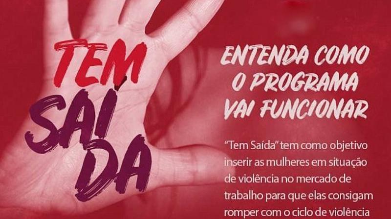 Programa dará emprego à mulheres vítimas de violência doméstica