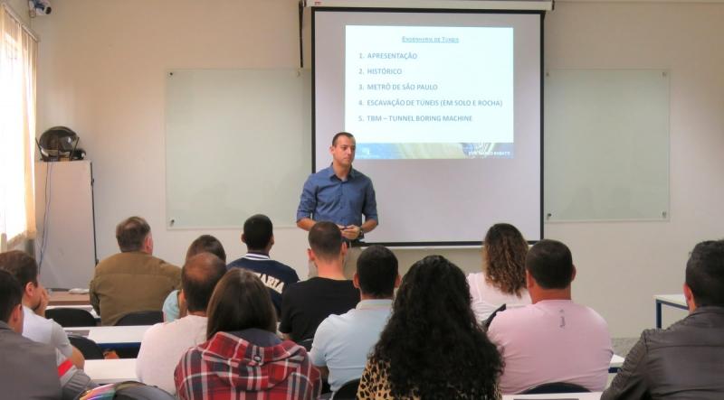Faculdade Católica traz especialista do Metrô para palestra sobre escavação subterrânea