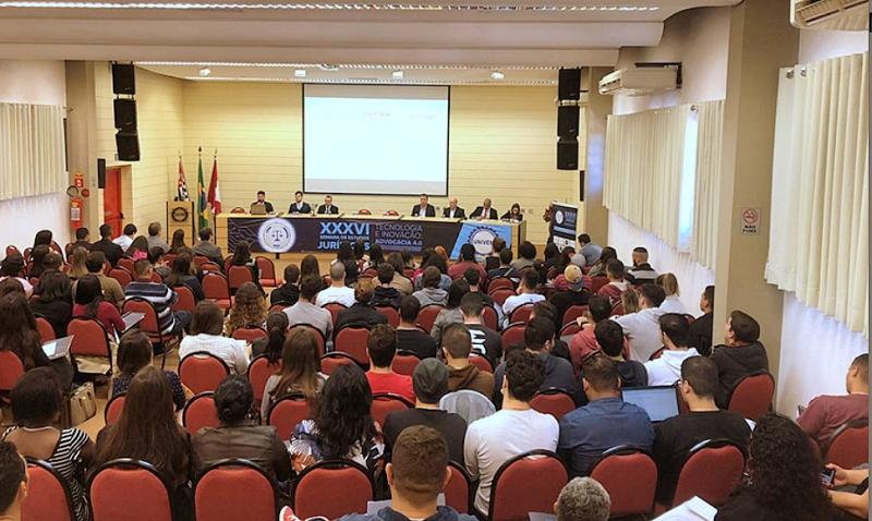 Debates e palestras abrem a Semana de Estudos Jurídicos do UNIVEM