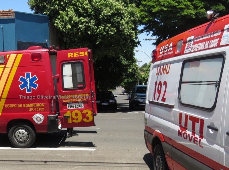 Menino de 2 anos é internado na UTI após ser atropelado por ônibus escolar