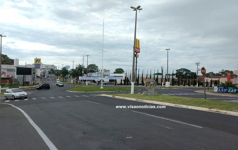 Emdurb anuncia mudanças no trânsito na rotatória da avenida Castro Alves