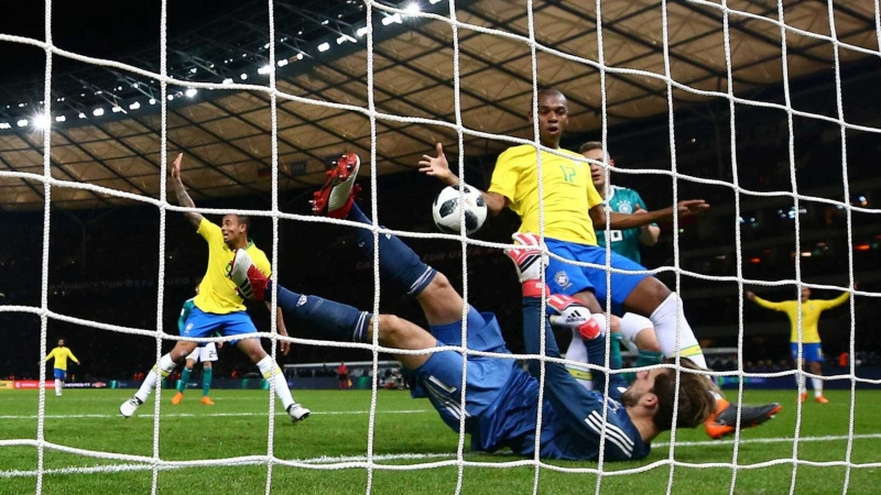 Brasil vence Alemanha em primeiro encontro após o 7 a 1