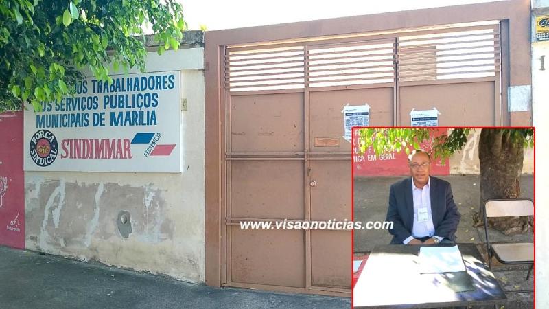 Funcionalismo: Sindicato fecha as portas e eleição é feita na rua