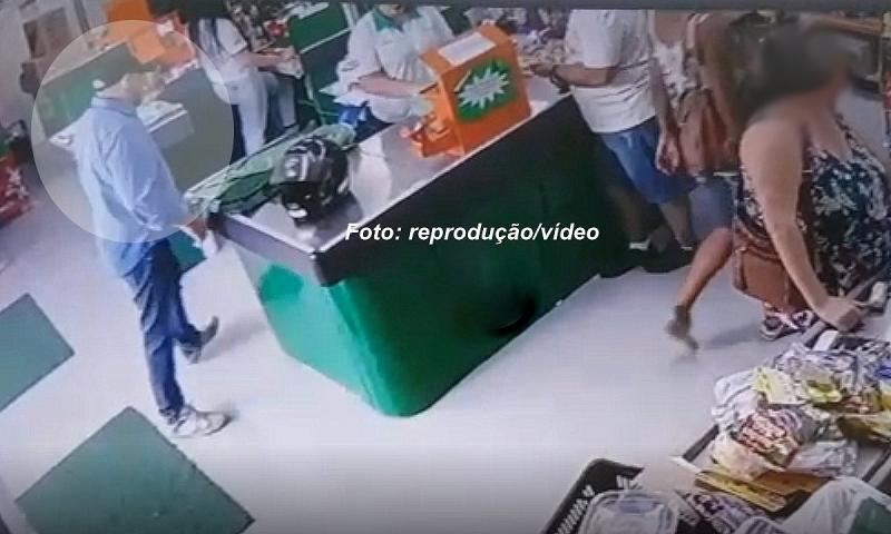 ROCAM prende homem acusado de assaltar mercado