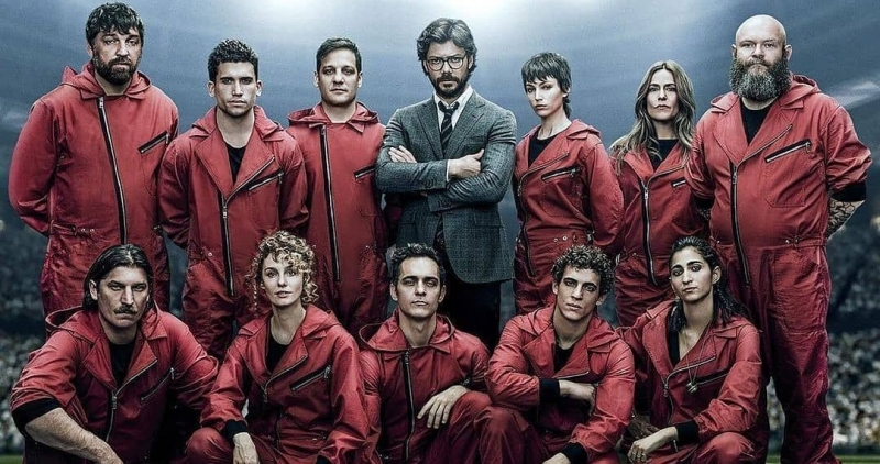 "Netflix lança hoje oito novos episódios de ""La Casa de papel"""