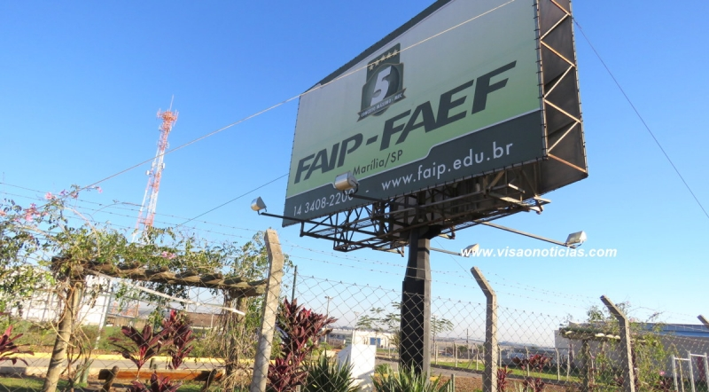 """FAIP lança o projeto """"Faip Transforma"""" para alunos do ensino médio"""
