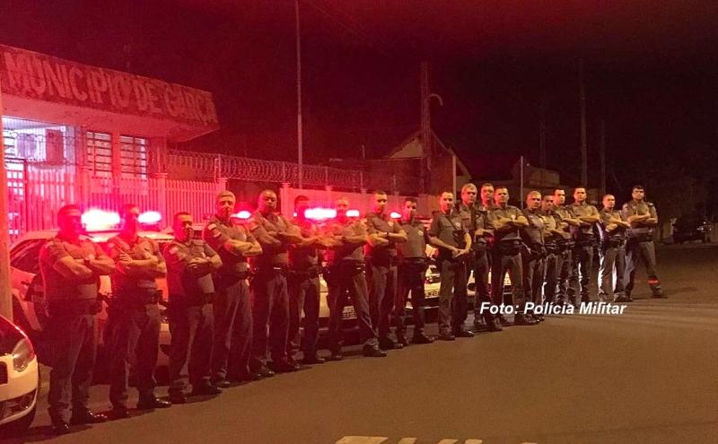 PM faz operação em Garça e prende seis pessoas acusadas de tráfico de drogas