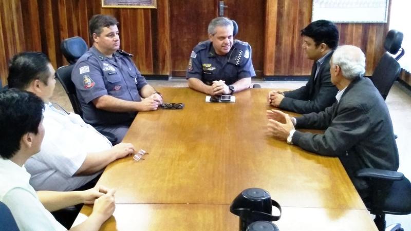 Segurança: ACIM e Polícia Militar estudam ações conjuntas