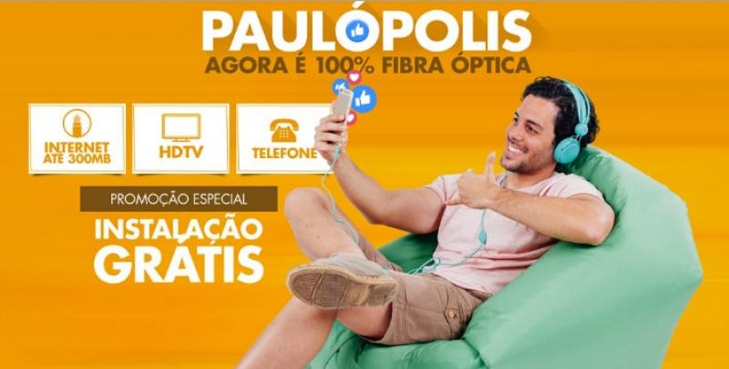 Life conclui 100% de cobertura de fibra óptica em Paulópolis e abre comercialização