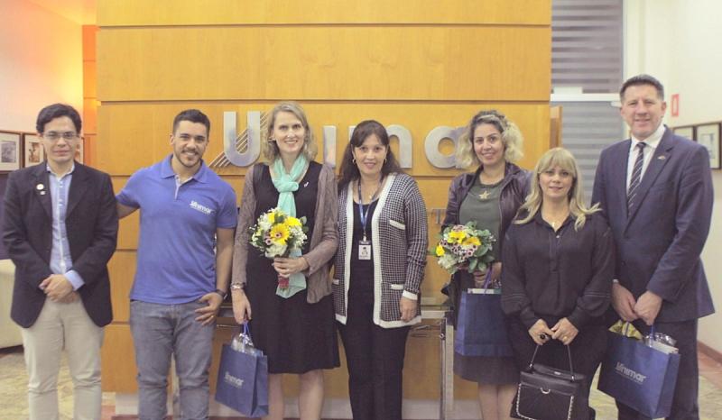 Semana da Oceania: Unimar recebe Vice-Embaixadora e Vice-Cônsul da Nova Zelândia